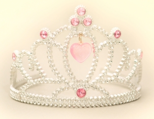 680240-princess-tiara-crown-with-pink-heart-gems-and-white-diamonds